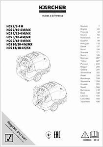 Karcher Hds 750 Service Manual