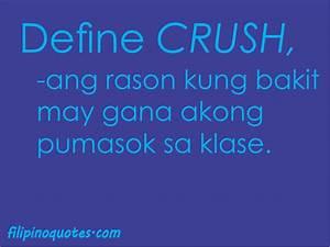 Crush Quotes Tagalog. QuotesGram