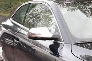 Audi A4 Chrom Spiegel : set edelstahl spiegel kappen v2a f r zierkappen audi a3 a4 ~ Jslefanu.com Haus und Dekorationen