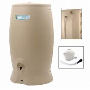 Recuperateur Eau De Pluie 1000 Litres : r cup rateur d 39 eau et collecteur a rien eda cylindrique ~ Premium-room.com Idées de Décoration