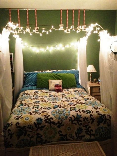 christmas lights decorations  bedroom
