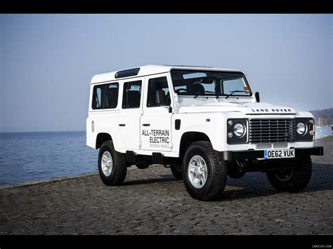 2018 Land Rover Electric Defender Concept Front