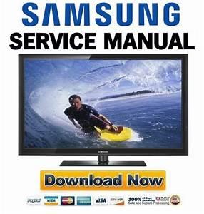 Samsung Pn50c430 Pn50c430a1d Service Manual And Repair