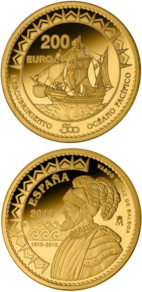 gold  euro coins   euro coin series  spain