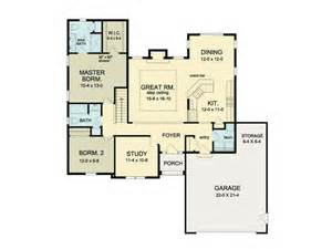 open floor plan ranch eplans ranch house plan open floor ranch 1552 square and 2 bedrooms from eplans house