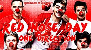 +Red Nose Day 1D by agusloveeee on DeviantArt