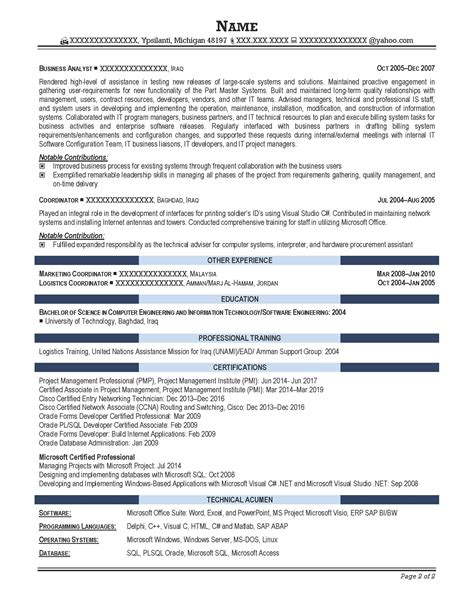 Business Intelligence Data Analyst Resume by Professional Resume Sles Resume Prime