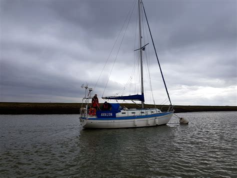Yacht Lifeboat by Whitstable Lifeboat Assists Yacht Rnli