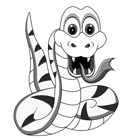 Coloring Pages: Snakes Coloring Pages Free and Printable