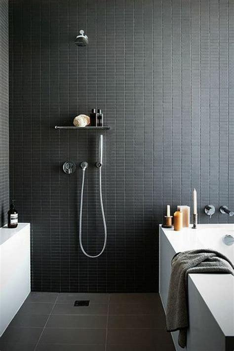 faience salle de bain noir et blanc la salle de bain noir et blanc les derni 232 res tendances