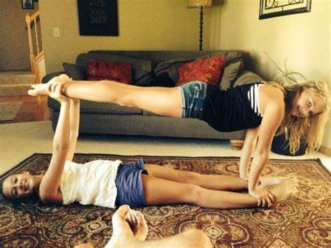 Two Person Acro Stunt With @meghurls