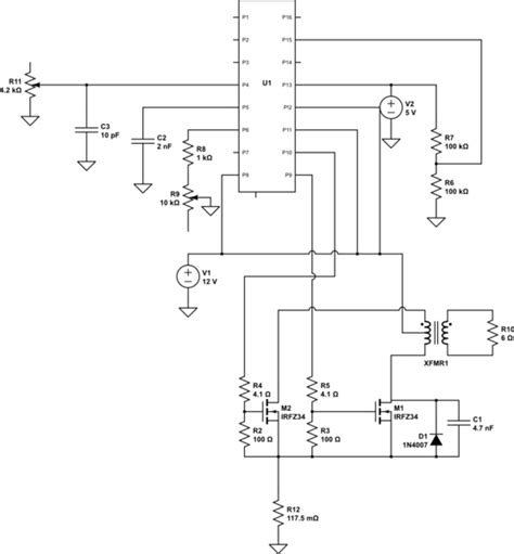 Tl494 Inverter Circuit by Switch Mode Power Supply Is Noise In A Tl494 Based Push