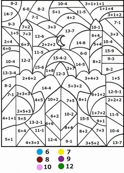 Math Coloring Pages Number Printable