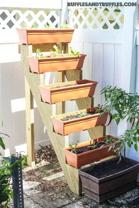 diy vertical planter save space in your home or garden by creating vertical planters