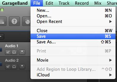 Garageband File Format by Exporting A Podcast As An Mp3 In Garageband Media Commons