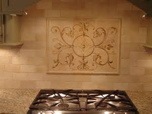 subway tile kitchen backsplash pictures painted backsplash painted backsplash medallion flickr