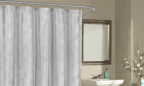 Silver Metallic Shower Curtains Metal Wheels For Coffee Table Lift Up Mechanism Tables Sunshine Coast Bookshelf Wine Crate Sale Boomerang Round With Chairs Underneath Glass And Wrought Iron