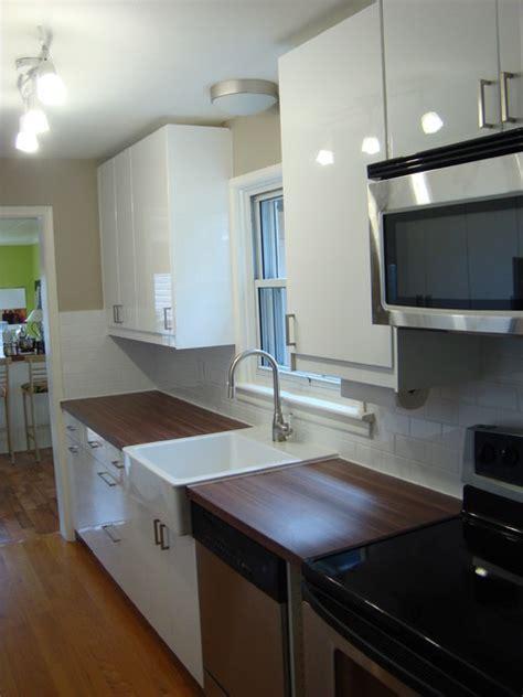ikea galley kitchen modern kitchen toronto