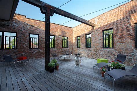soulard loft apartment industrial deck st louis