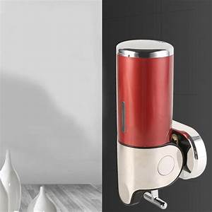 500ml Manual Stainless Steel Soap Dispenser Wall Mounted