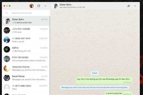 whatsapp just released desktop apps for mac and windows