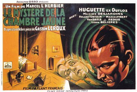 le mistere de la chambre jaune le mystère de la chambre jaune 1930