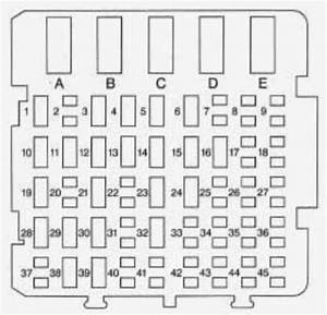 Chevrolet Monte Carlo  1996  - Fuse Box Diagram