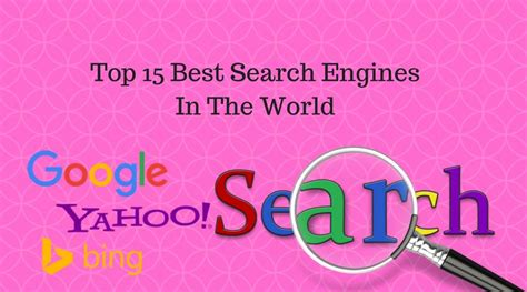 World Best Search Engine 15 Best Search Engines In The World Search Engine