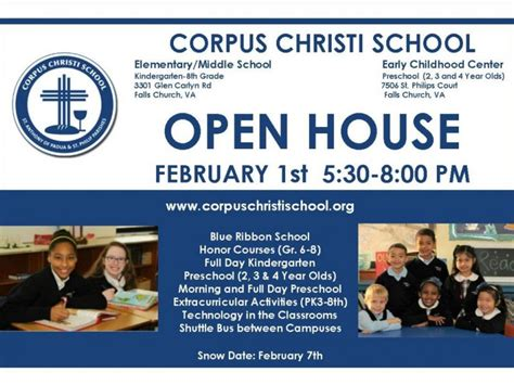 corpus christi school open house february 1st falls 833 | jan 2017 open house invite for patch 1485134364 6484