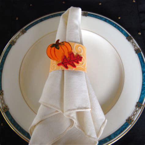 pumpkin napkin rings allfreepapercraftscom