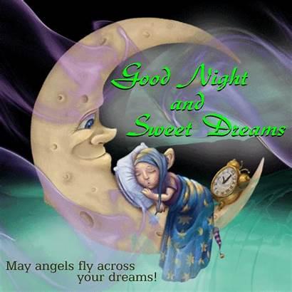 Dreams Night Sweet Goodnight Ecard Cards Gifs