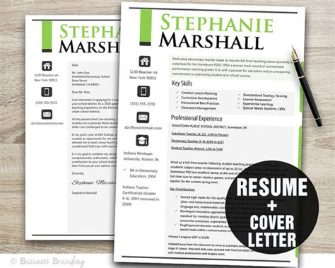 Free Creative Resume Templates For Teachers by Creative Resume Template Resume Template Resume