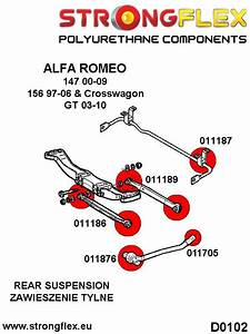 Alfa Romeo 147 156 Rear Suspension Front Arm Bush