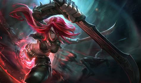 Katarina, League Of Legends Wallpapers Hd / Desktop And Mobile Backgrounds