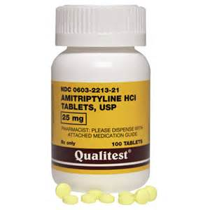 Amitriptyline 25 mg (100 Tabs) Amitriptyline