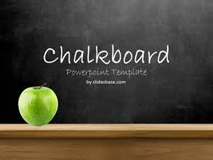 blueprint home design blackboard chalkboard powerpoint template slidesbase