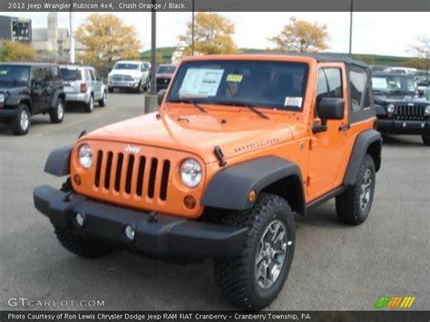 jeep wrangler orange 2017 2013 jeep wrangler rubicon 4x4 in crush orange photo no