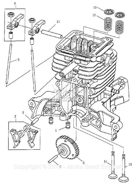 robinsubaru ehv parts diagram  camshaft parts
