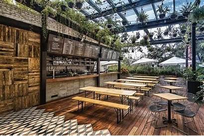 Restaurant Cafe Patio Bar Concept Court Terrace