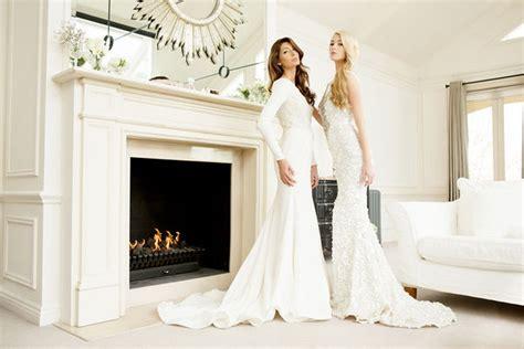 glamorous wedding gown ads steven khalil ss bridal