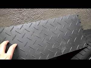 Fliesen Löcher Reparieren : video flexi tile pvc bodenbelag als garagenboden doovi ~ Frokenaadalensverden.com Haus und Dekorationen