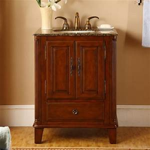 28 inch single sink bathroom vanity with granite counter With 28 inch dresser