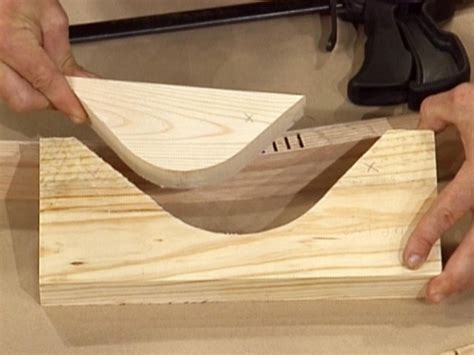 cut curves  wood woodworking session