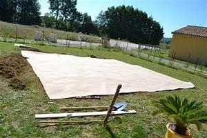 Preparation Terrain Pour Piscine Hors Sol Tubulaire : etape 2 pr paration sol piscine construction de notre ~ Premium-room.com Idées de Décoration