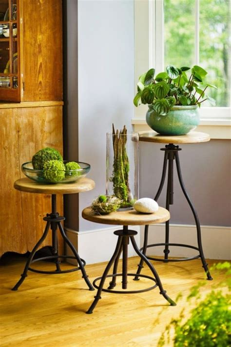 lovely plant stands   perfect  display