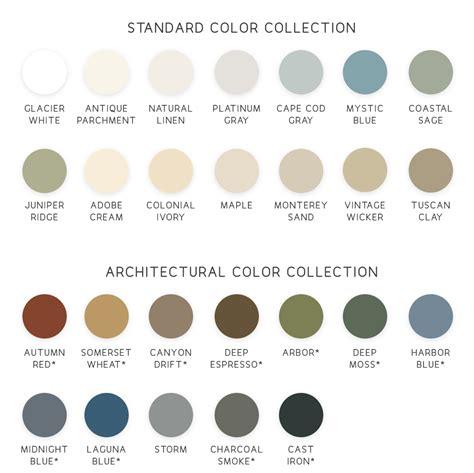 colors of siding siding color options window world of island