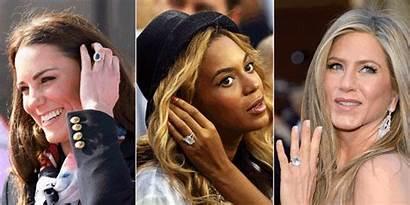 Celebrity Engagement Rings Alikes Diamond Ring Through