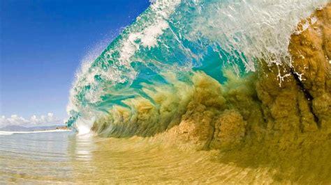 Hd Desktop Picture by Summer Sea Waves Desktop Wallpaper Hd 1920x1200