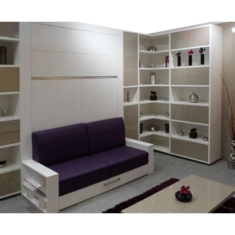 lit escamotable canapé meuble lit canape couchage