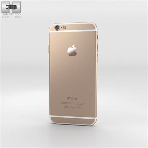 iphone 6 models apple iphone 6 gold 3d model humster3d